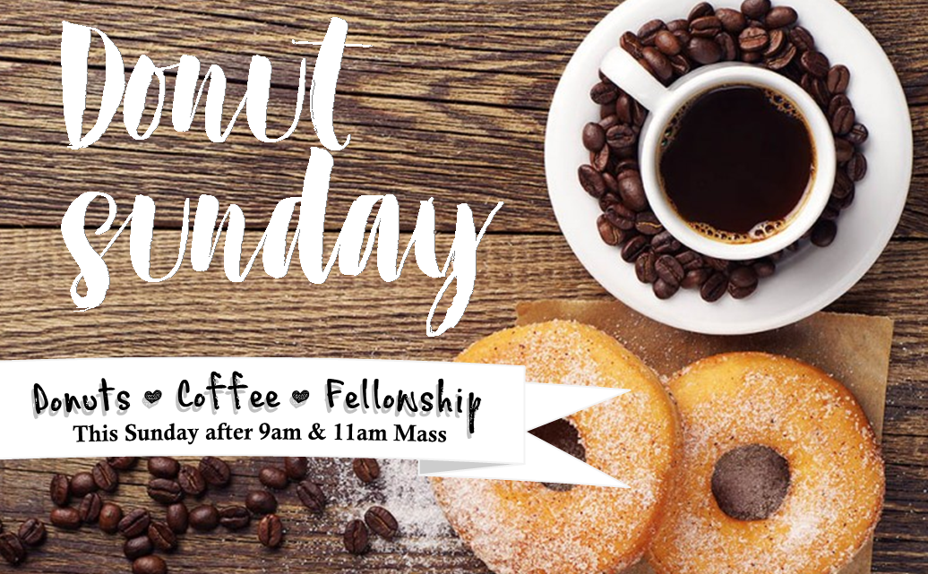 Donuts This Sunday!